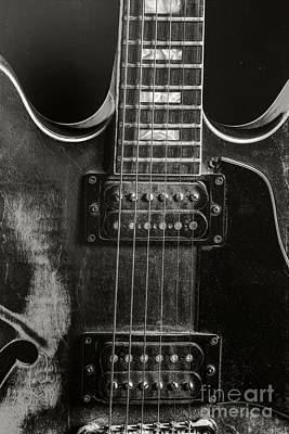 Photograph - Gibson Guitar Metal Wall Art 1744.28 by M K Miller
