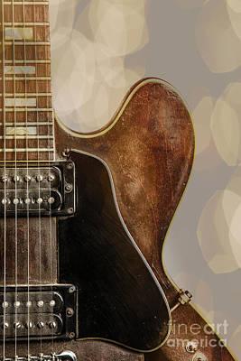 Photograph - Gibson Guitar Music Photo 1744.004 by M K Miller