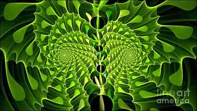 Digital Art - Gingko Fractiloba by Doug Morgan