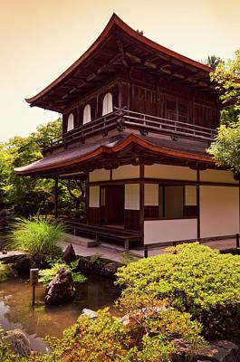 Photograph - Ginkaku-ji Temple, Kyoto by Gisle Daus