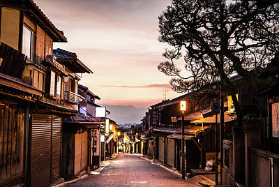 Photograph - Gion Traditional Heart Of Kyoto by @ Didier Marti