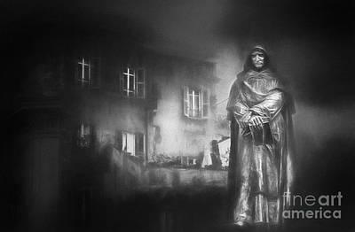 Erik Brede Rights Managed Images - Giordano Bruno Royalty-Free Image by Erik Brede