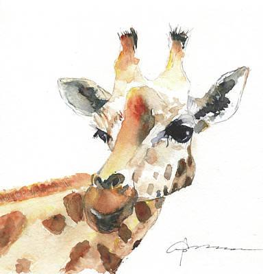 Painting - Giraffe by Claudia Hafner