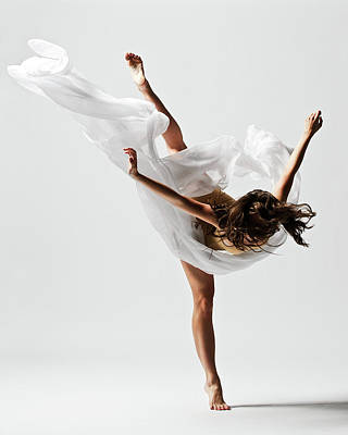 Photograph - Girl Dancing by Copyright Christopher Peddecord 2009