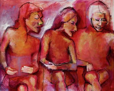Painting - Girlfriends by Nan Davis