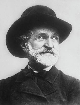 Verdi Wall Art - Photograph - Giuseppe Verdi by Time Life Pictures