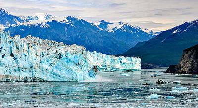 Photograph - Glacier Calving Alaska  by Marilyn MacCrakin