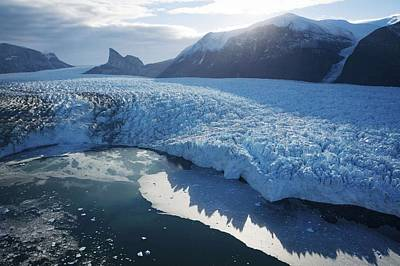 Painting - Glacier In West Greenland by Celestial Images