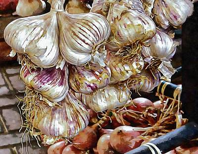 Photograph - Glamorous Garlic by Dorothy Berry-Lound
