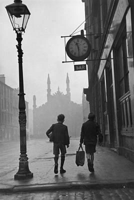 Pub Photograph - Glasgow Boys by Bert Hardy