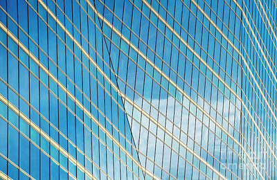 Photograph - Glass Angles by Tim Gainey