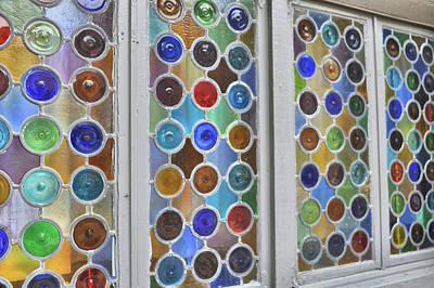 Photograph - Glass Circles by Jamart Photography
