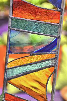 Photograph - Glass Hues by Jamart Photography