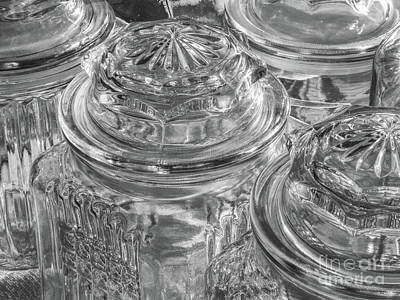 Photograph - Glass Jars by Phil Perkins