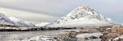 Photograph - Glencoe Snowy Morning by Grant Glendinning