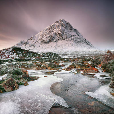 Photograph - Glencoe Winter - Square by Grant Glendinning