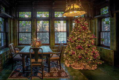 Photograph - Glensheen Breakfast Room by Susan Rissi Tregoning