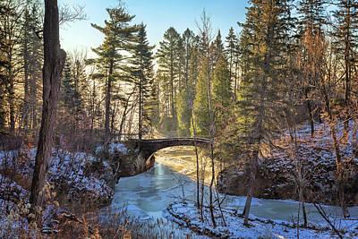 Photograph - Glensheen Stone Arch Bridge by Susan Rissi Tregoning