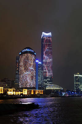 Photograph - Shanghai At Night by Nick Mares