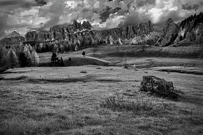 Photograph - Glorious Afternoon In The Dolomites by Jon Glaser