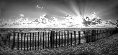 Photograph - Glorious Sunrise In Black And White by Debra and Dave Vanderlaan