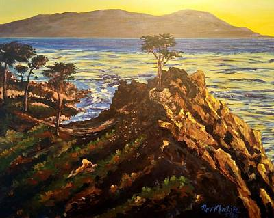 Painting - Glorious Sunset by Ray Khalife