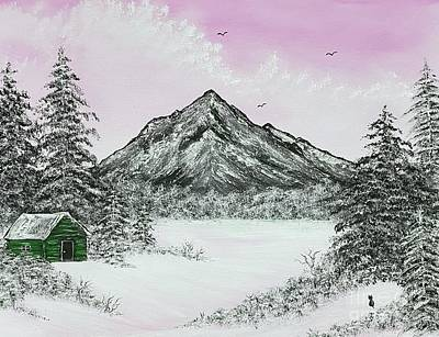 Michael Jackson - Glorious winter holidays pink by Angela Whitehouse