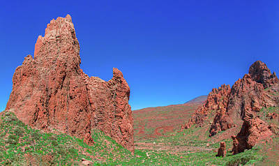 Photograph - Glowing Red Rocks In The Teide National Park by Sun Travels