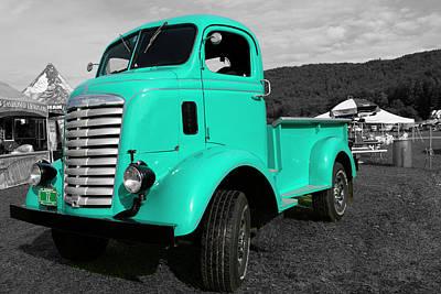 Wall Art - Photograph - Gmc Truck by Rik Carlson