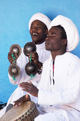 Photograph - Gnaouan Musicians by Jessica Levant