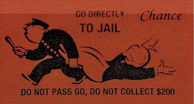 Photograph - Go Directly To Jail by Rob Hans