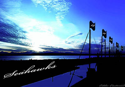 Landmarks Royalty-Free and Rights-Managed Images - Go Seahawks by Eddie Eastwood