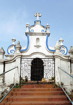 Photograph - Goa Cemetery Gate by Sisoje