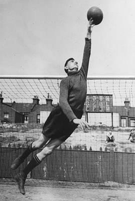 Photograph - Goal Keeper by Edward G Malindine