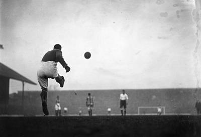 Photograph - Goal Kick by Topical Press Agency