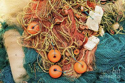 Photograph - Goan Fishing Net 2 by Miles Whittingham