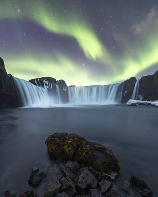 Photograph - Godafoss Waterfall by Photography by KO