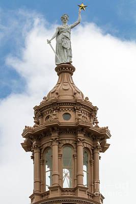 Photograph - Goddess Of Liberty by David Cutts