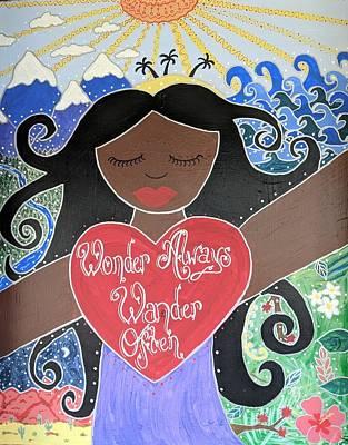 Painting - Goddess Of Wonder by Angela Yarber