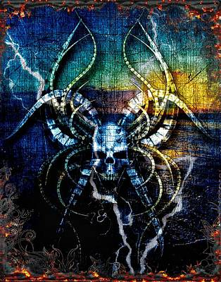 Digital Art - Gods Of The Thunder  by Michael Damiani