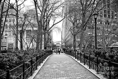 Photograph - Going For A Walk In Union Square Park New York City by John Rizzuto