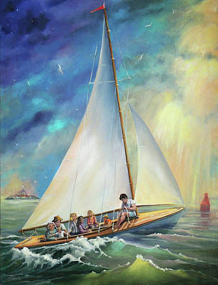 Painting - Going Home by Nancy Griswold