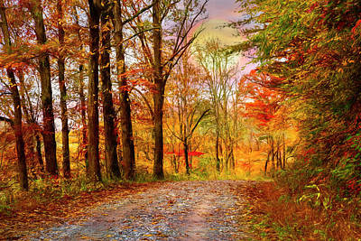 Photograph - Going Home Painting by Debra and Dave Vanderlaan