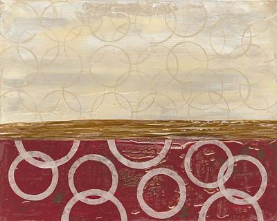 Avondet Wall Art - Painting - Going In Circles I  by Natalie Avondet