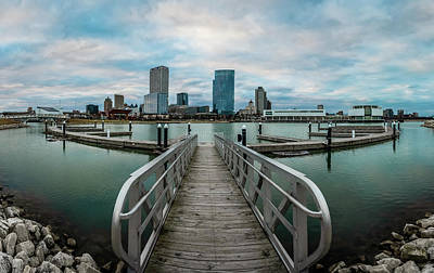 Photograph - Going Wide At Lakeshore State Park by James Meyer