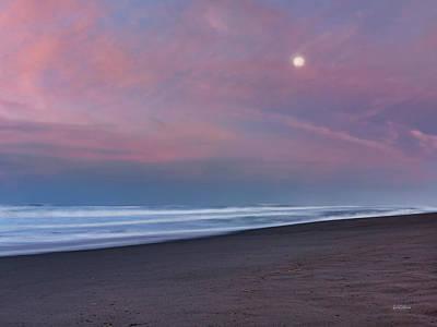 Photograph - Gold Beach Sunrise by Leland D Howard