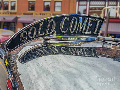 Photograph - Gold Comet by Tony Baca
