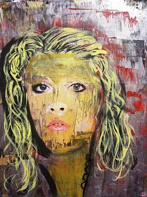 Painting - Gold Dust Woman by Jayime Jean