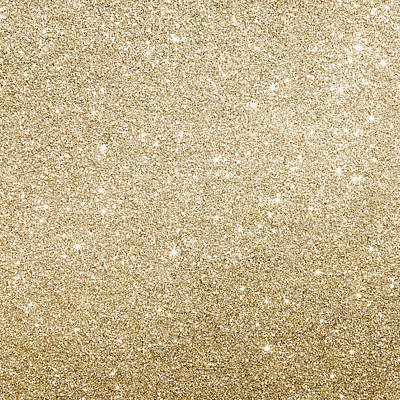 Photograph - Gold Glitter by Top Wallpapers