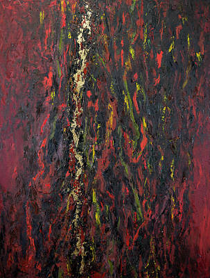Painting - Vein of Gold by Doug LaRue